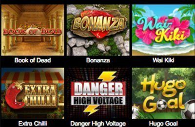 VideoSlots games