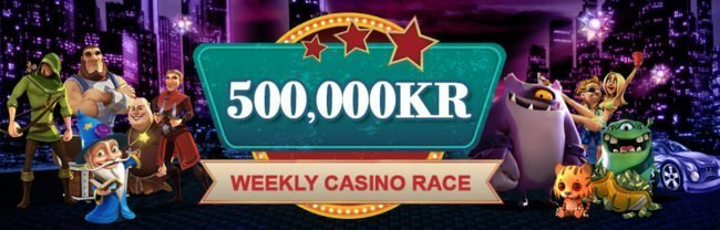 Videoslots Casino Race