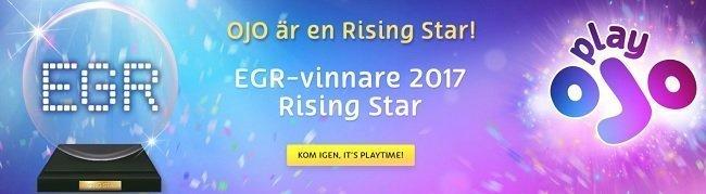 EGR awarded Play OJO casino