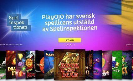 PlayOjo svensk licens