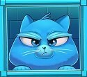 NetEnt Copy Cats Blue Cat Symbol