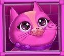 NetEnt Copy Cats Pink Cat Symbol