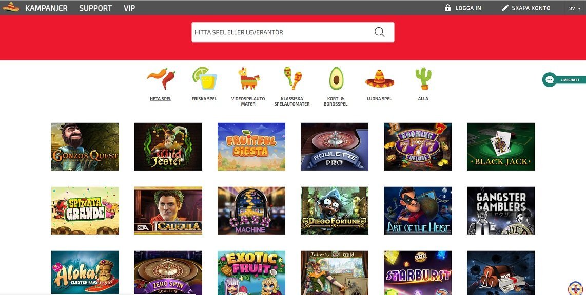 la fiesta casino recension