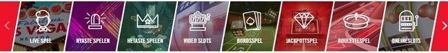 spelkategorier