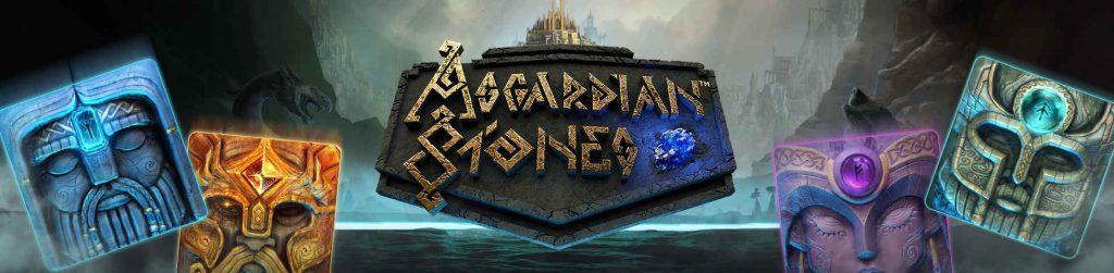 Asgardian stones slot banner