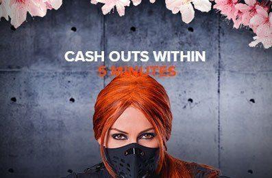Ninja Casino odds cashout