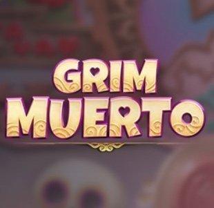 Grim Muerto slot logga