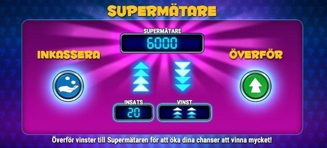 Mystery Joker 6000 supermätaren
