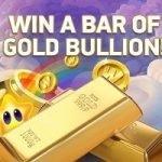Tävla & Vinn 1 kilo rent guld med Netent