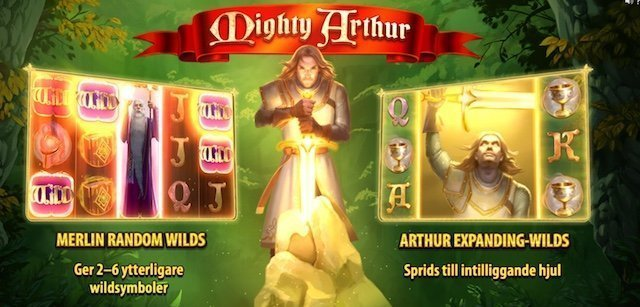 Mighty Arthur slot wilds