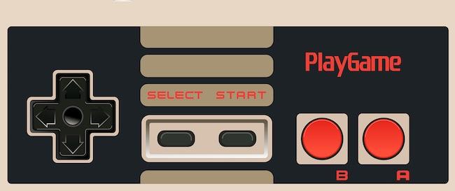 Handkontroll för tv-spel