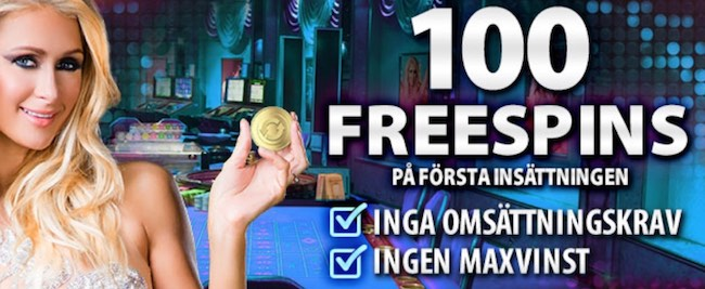 100 freespins hos BGO