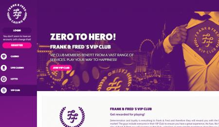 Frank & Fred casino kampanjer