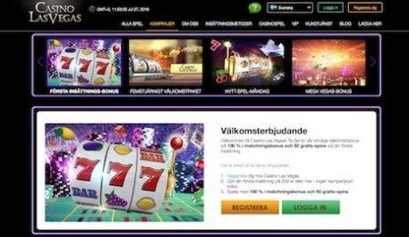 Casino LasVegas erbjudande och kampanjer