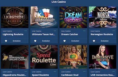 Hajper live-casino