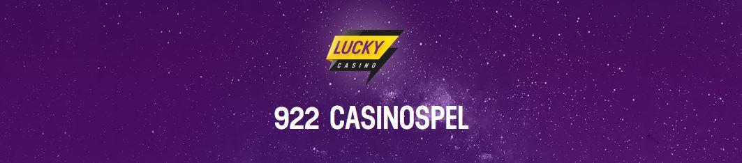 Casinospel hos Lucky casino