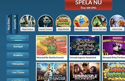 eu casino games