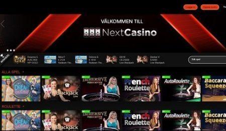 next live casino