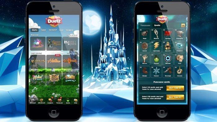 Duelz Casino Mobil