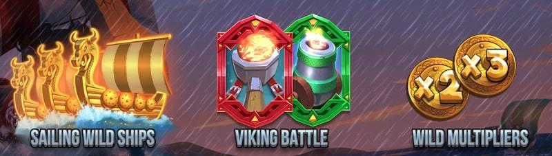 Viking Clash Funktioner