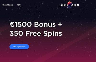 Zodiacu casino bonus