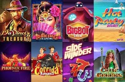 Zodiacu casino spelautomater