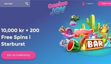 casinojoy bonus