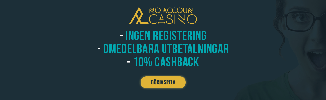 Cashback Bonus No Account Casino