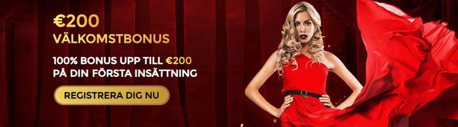 Välkomstbonus Unique Casino