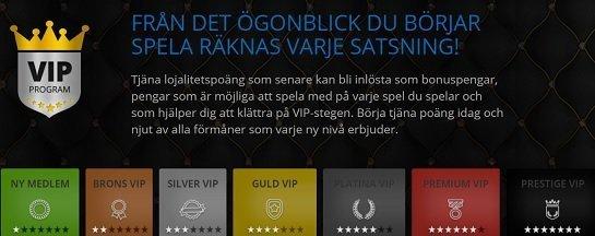 Atlantic Spins VIP programme