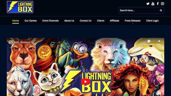 Lightning Box spel