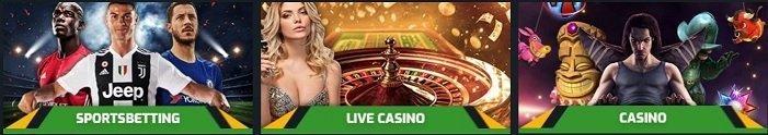 Evobet Casino Games