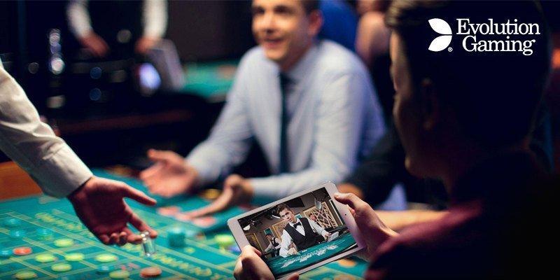 Evolution Gaming mobile live casino