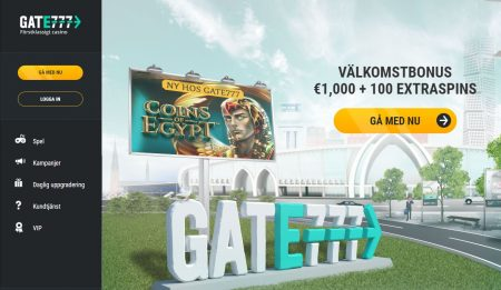 Gate777 Casino bonus