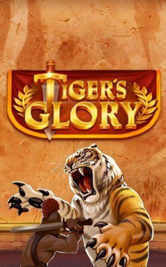 Tiger's Glory slot logo