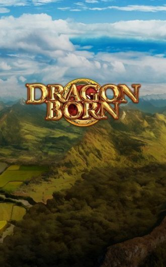 Dragon Born slot logo