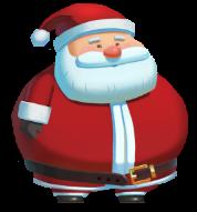 Fat Santa symboler