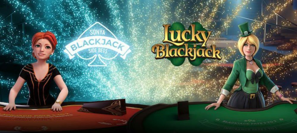 Yggdrasil Lucky Blackjack pa live casino