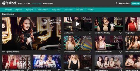 FastBet live casino