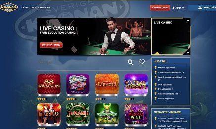 Sverige Kronan Casino