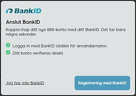 888 bankidentifikation