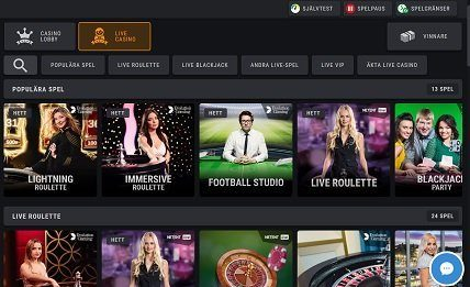 Coolbet live-casino
