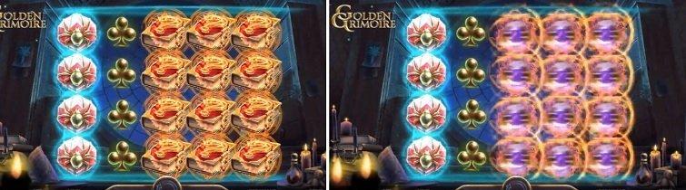 Golden Grimoire symboler