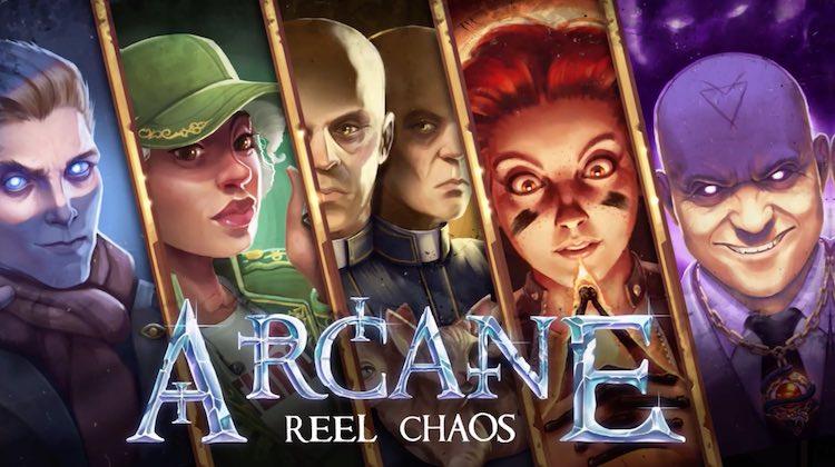 Nya slot Arcane Reel Chaos