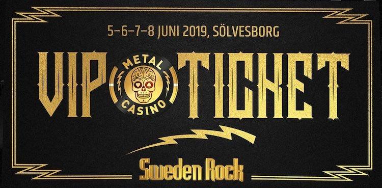 Sweden Rock Metal Casino