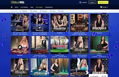 William Hill live-casino