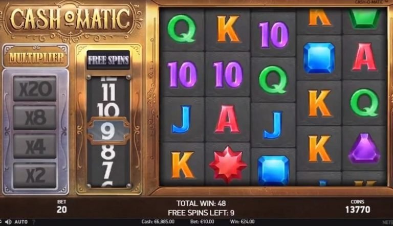 Cash-o-Matic slot recension