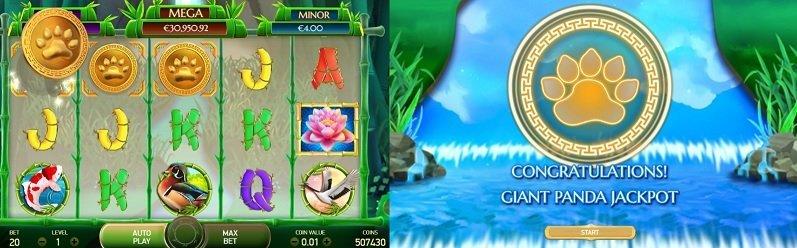 happy panda jackpot game
