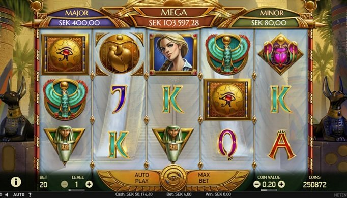 Mercy of the Gods slot recension
