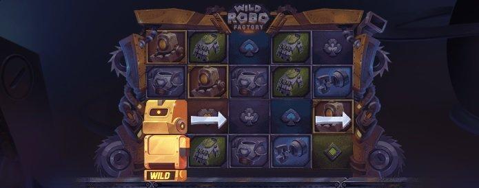 Wild robos slot overload